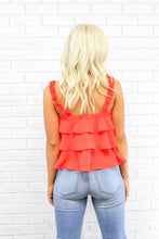 Load image into Gallery viewer, Chelsi Ruffle Tank