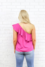 Load image into Gallery viewer, Roxie One Shoulder Top