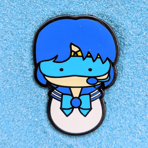 Kokeshi Sailor Mercury - Enamel Pin