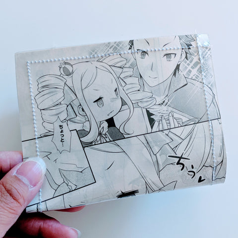 ReZero - Upcycled Comic Book Vinyl Wallet