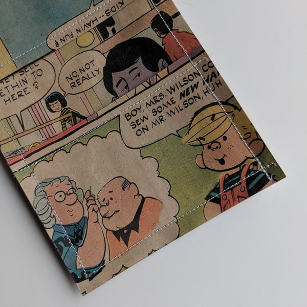 Dennis the Menace - Upcycled Comic Book Vinyl Wallet