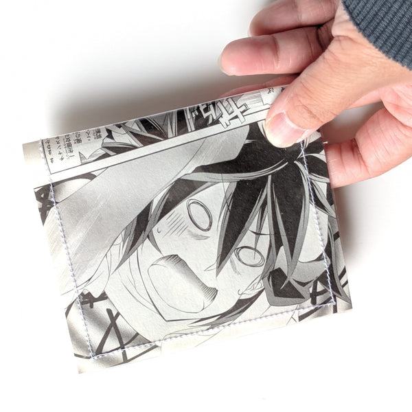 No Game No Life - Upcycled VHS Vinyl Wallet