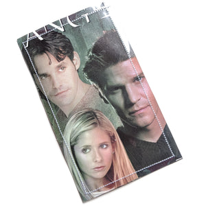 Buffy and Angel - Upcycled Comic Book Vinyl Wallet