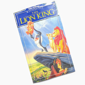 Lion King - Upcycled VHS Vinyl Wallet