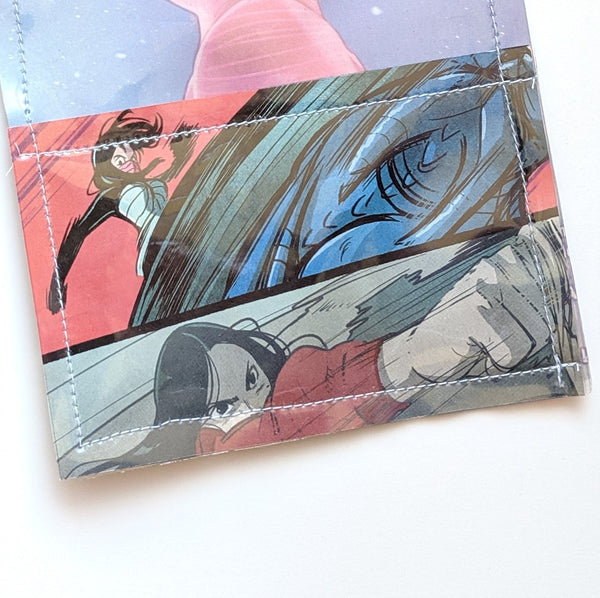 Silk Spiderman - Upcycled Comic Book Vinyl Wallet