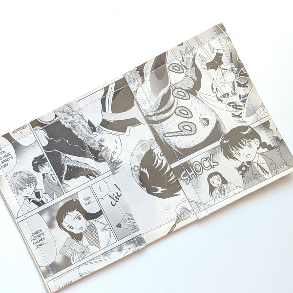 Rin-ne - Upcycled Comic Book Vinyl Wallet