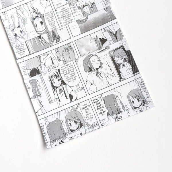 K-on - Upcycled Comic Book Vinyl Wallet