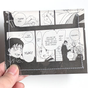 Blue Exorcist Ao no Ekusoshisuto - Upcycled Comic Book Vinyl Wallet