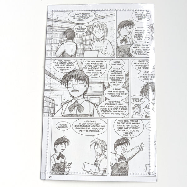 Megatokyo - Upcycled Comic Book Vinyl Wallet
