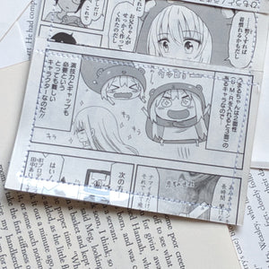 Himouto! Umaru-chan  - Upcycled Comic Book Vinyl Wallet