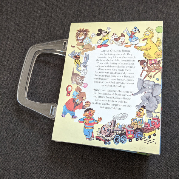Aristocats Golden Book - Upcycled Recycled Tote Book Purse