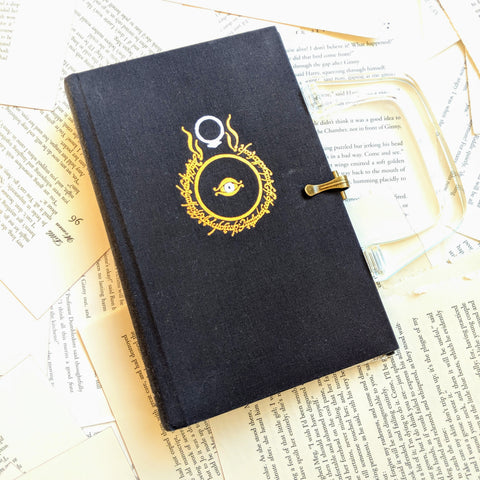 Lord of the Rings, Return of the King - Upcycled Recycled Tote Book Purse