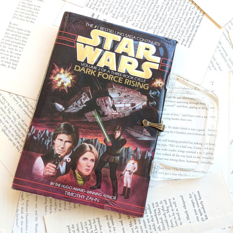 Star Wars, Dark Force Rising - Upcycled Recycled Tote Book Purse