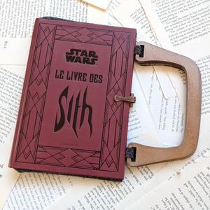 Star Wars Sith - Upcycled Recycled Tote Book Purse