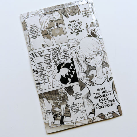 Danganronpa - Upcycled Comic Book Vinyl Wallet