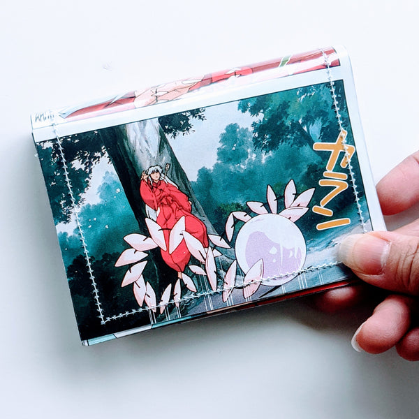 Inu Yasha - Upcycled Comic Book Vinyl Wallet