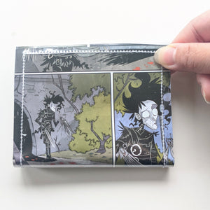 Edward Scissorhands - Upcycled Comic Book Vinyl Wallet