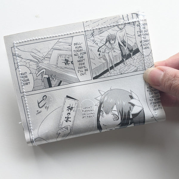 DanMachi Is It Wrong to Try to Pick Up Girls in a Dungeon? - Upcycled Comic Book Vinyl Wallet
