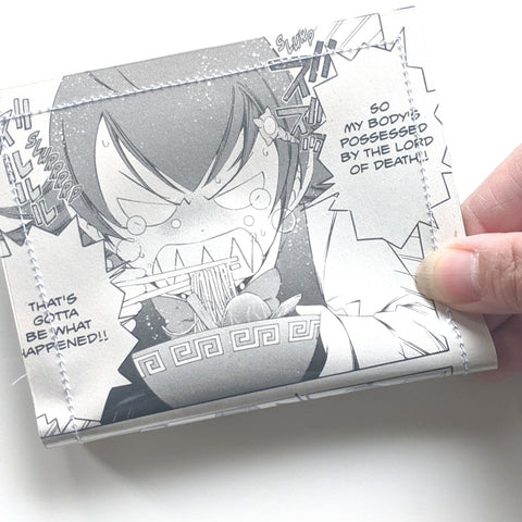 Ace Attorney - Upcycled Comic Book Vinyl Wallet