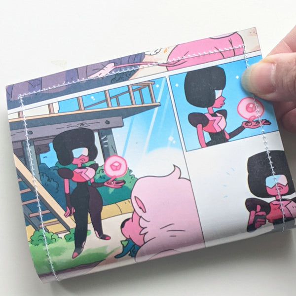 Steven Universe - Upcycled Comic Book Vinyl Wallet