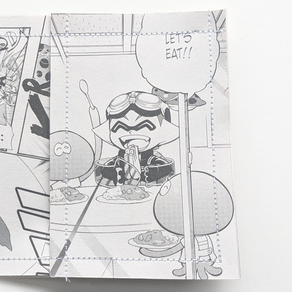 Splatoon - Upcycled Comic Book Vinyl Wallet - Upcycled Comic Book Vinyl Wallet