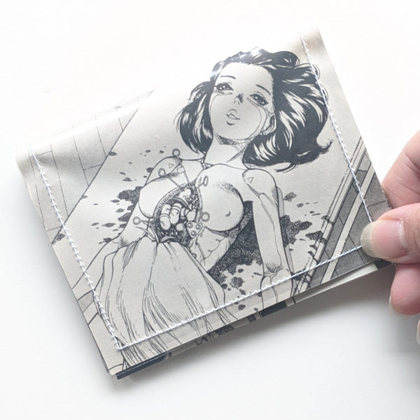 Battle Angel Alita - Upcycled Comic Book Vinyl Wallet