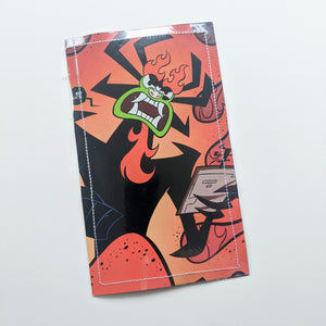 Samurai Jack  - Upcycled Comic Book Vinyl Wallet