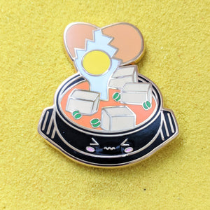 Foodie Sundubu Korean Tofu Soup - Enamel Pin
