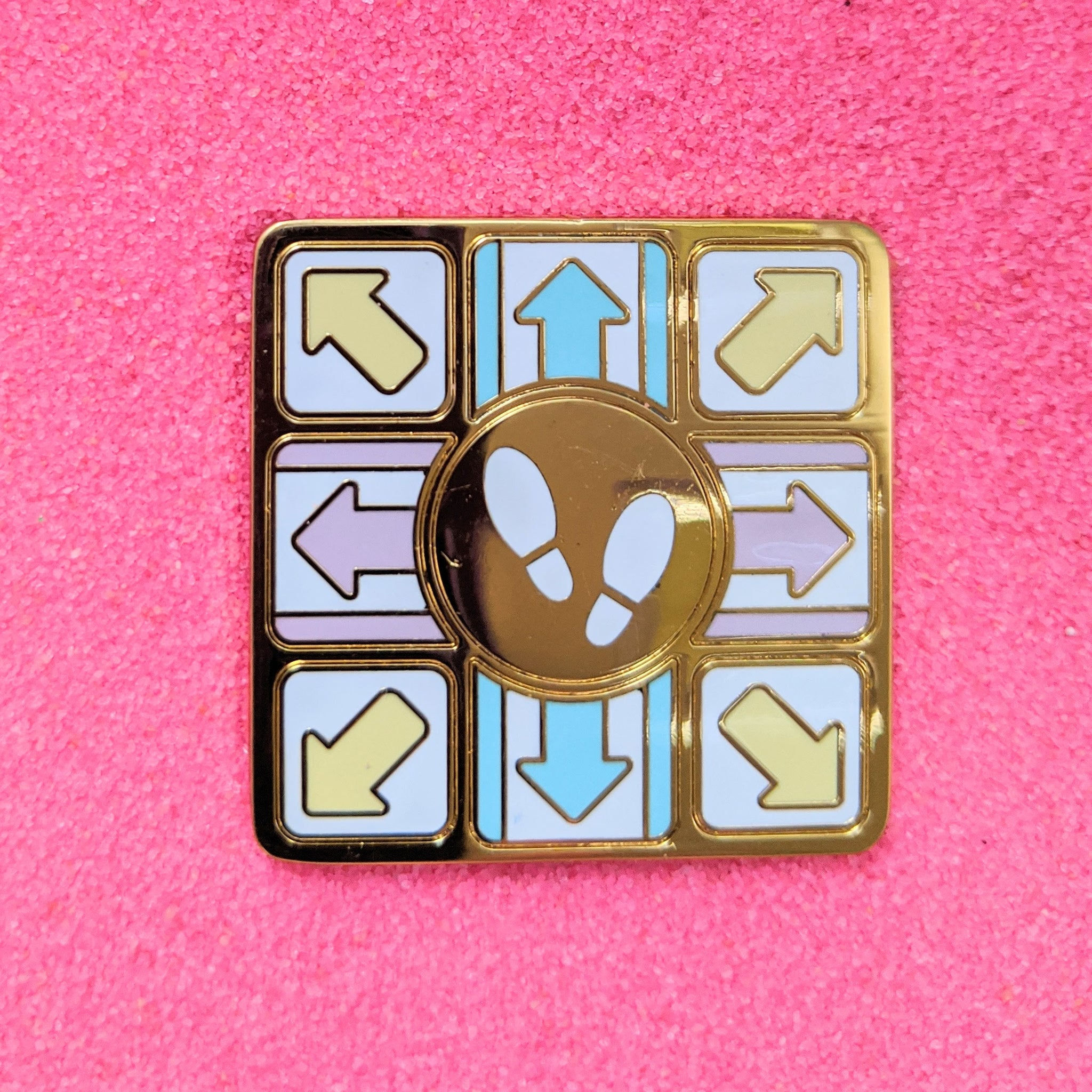 Dance Dance Game Pastel - Enamel Pin