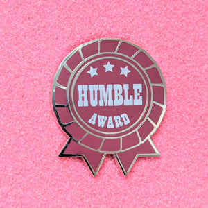 Humble Ribbon Award - Enamel Pin