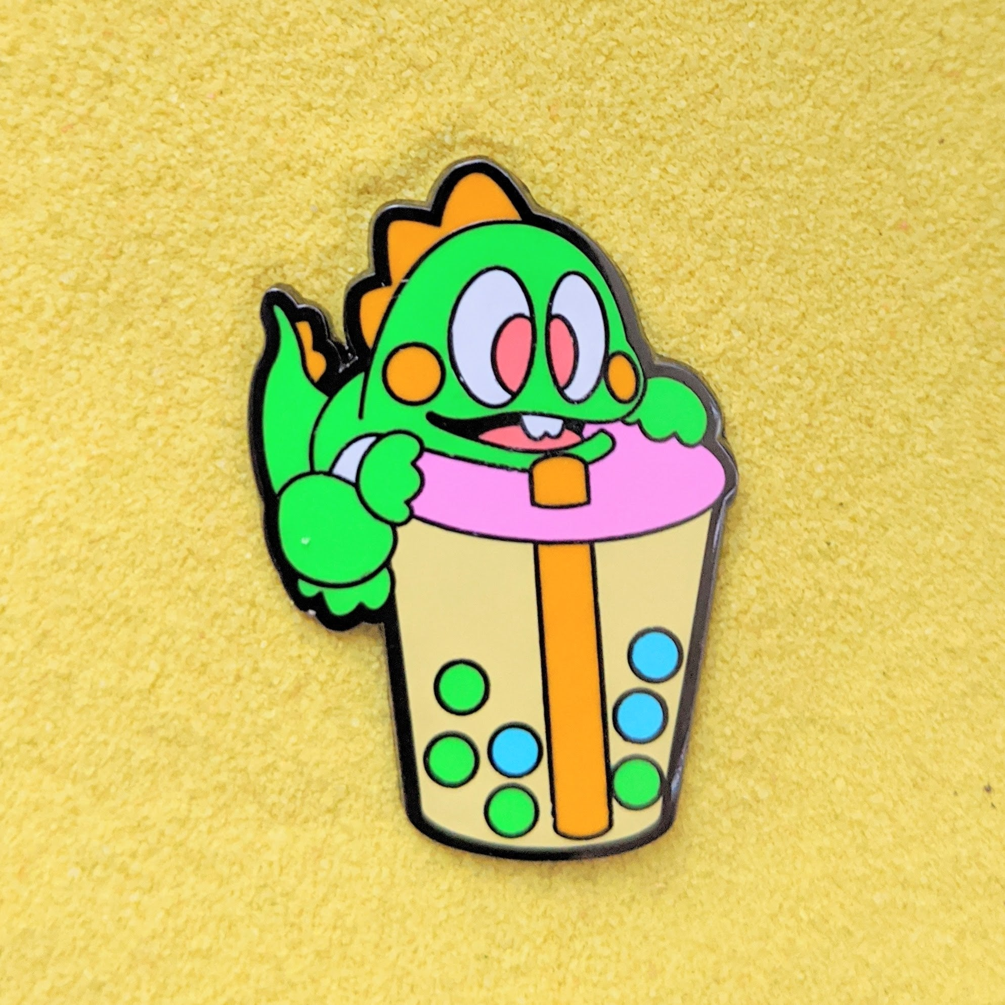 Bubble Boba Bubble Tea- Enamel Pin