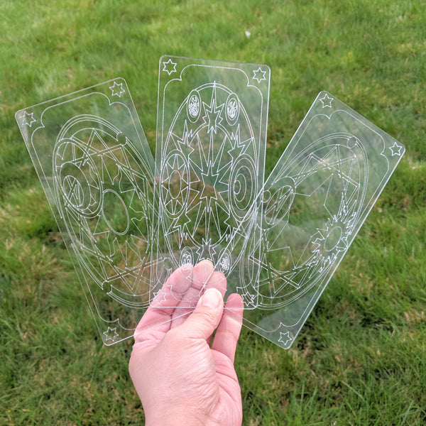 Reflect Clear Card - Acrylic Cosplay Prop, CardCaptor Sakura