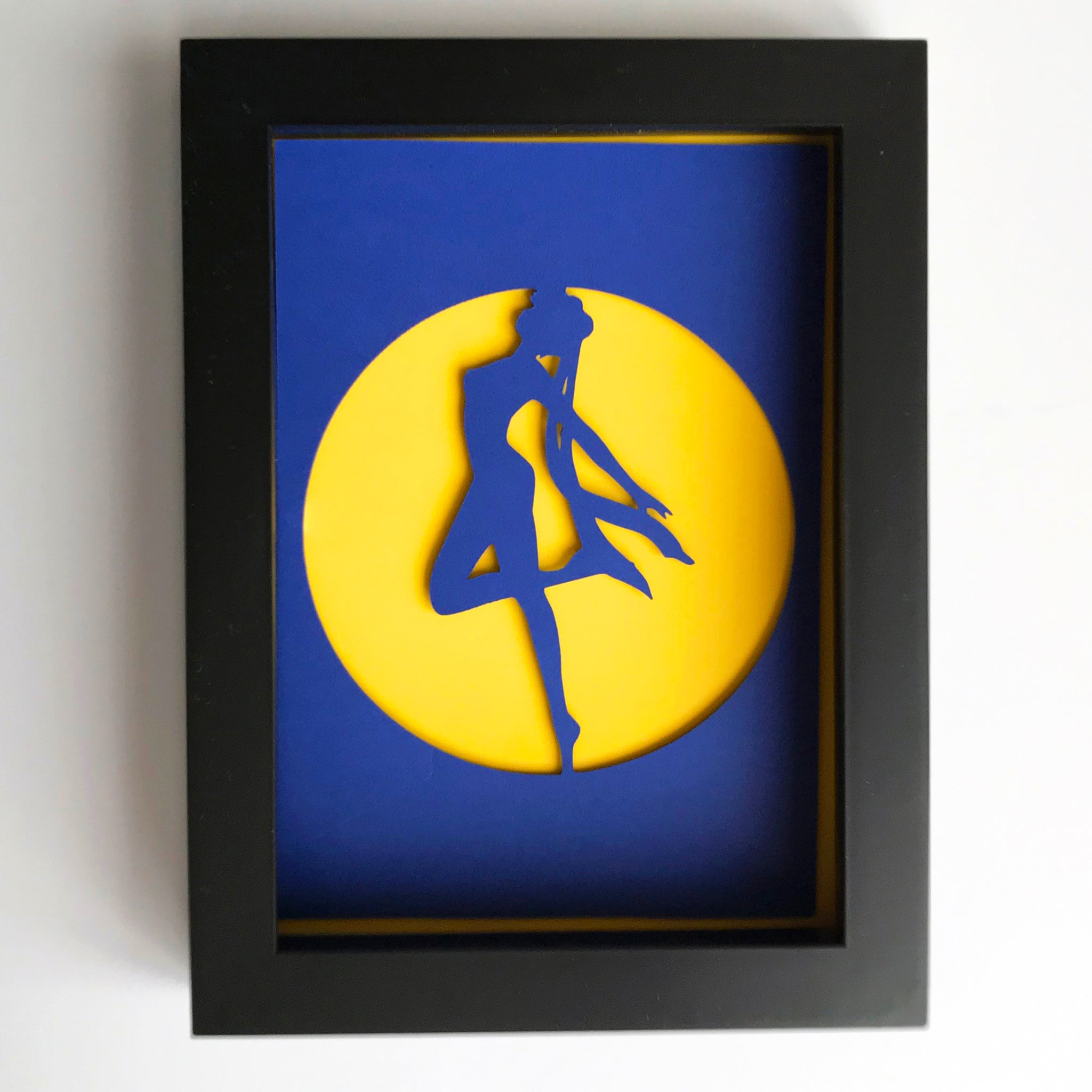 "Sailor Moon - 5""x7"" Shaowbox PaperCut"
