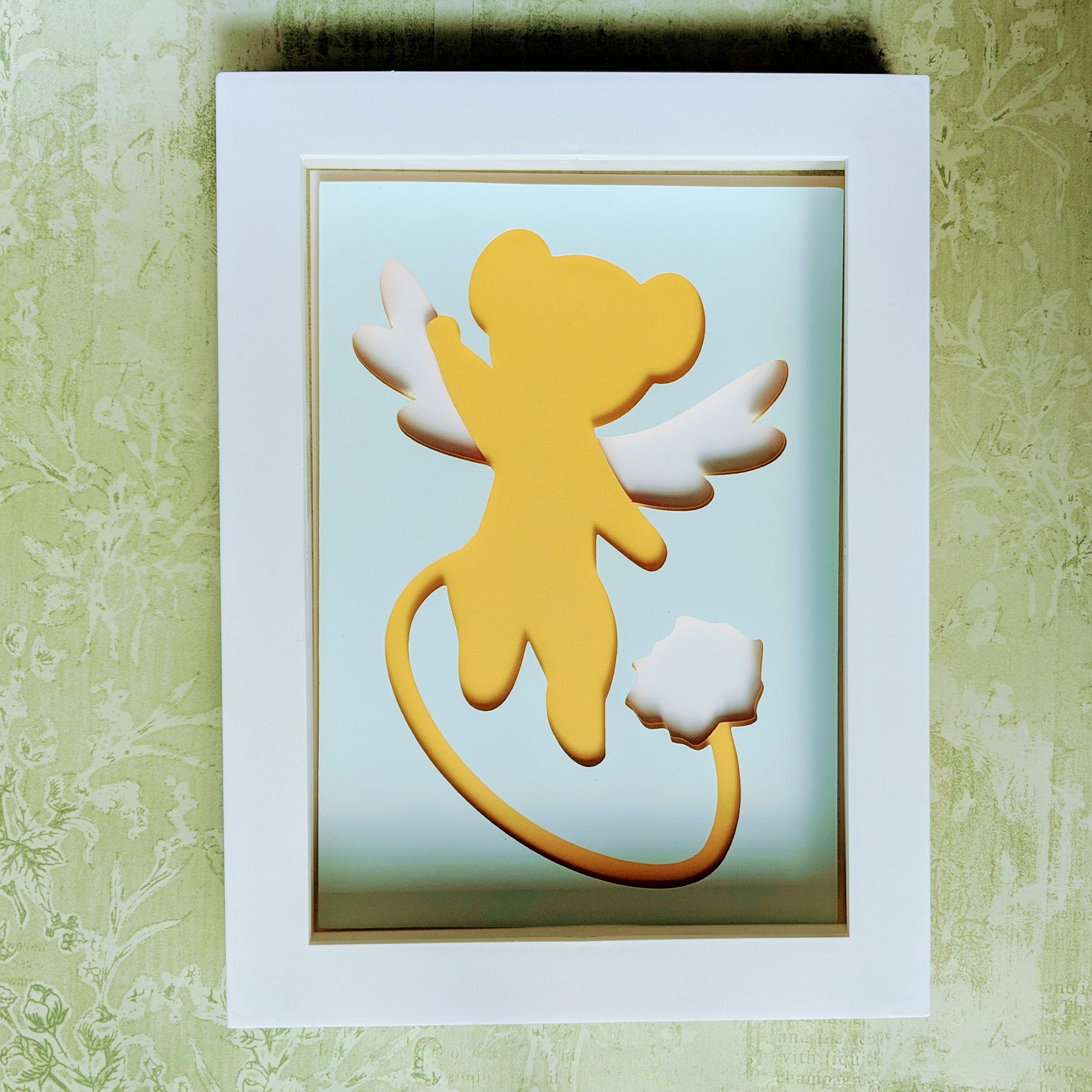"Kero - 5""x7"" Shaowbox PaperCut"