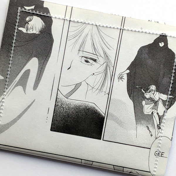 Vampire Princess Miyu - Upcycled Comic Book Vinyl Wallet