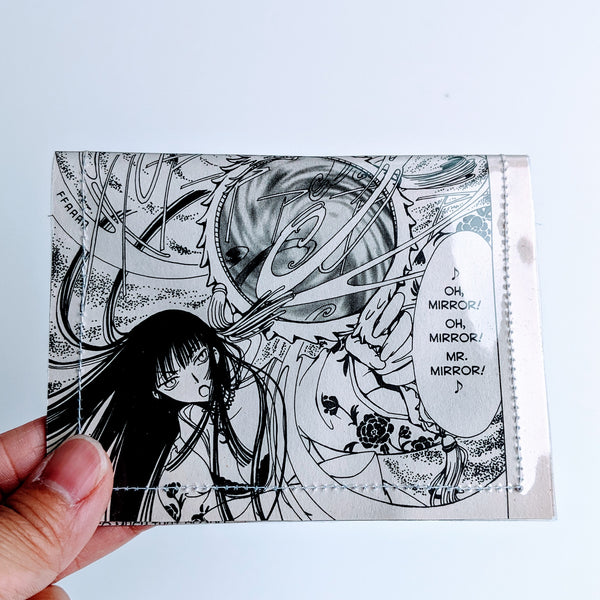 Xxxholic - Upcycled Comic Book Vinyl Wallet