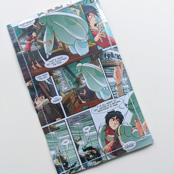 Big Hero 6 Baymax - Upcycled Comic Book Vinyl Wallet