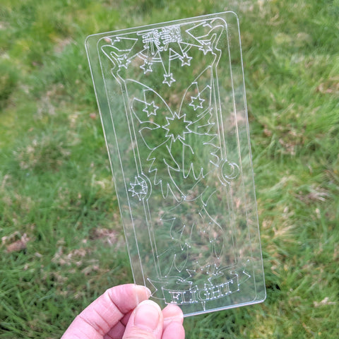Flight Clear Card - Acrylic Cosplay Prop, CardCaptor Sakura