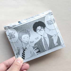 wotakoi - Upcycled Comic Book Vinyl Wallet