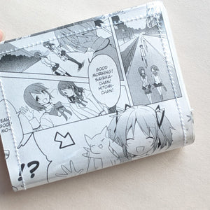 Madoka Magica - Upcycled Comic Book Vinyl Wallet