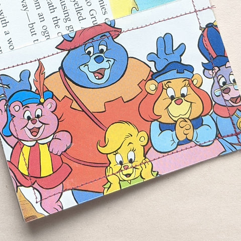 Gummy Bears - Upcycled Comic Book Vinyl Wallet