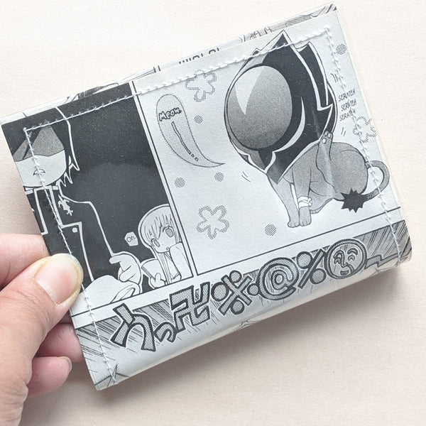 Code Geass - Upcycled Comic Book Vinyl Wallet