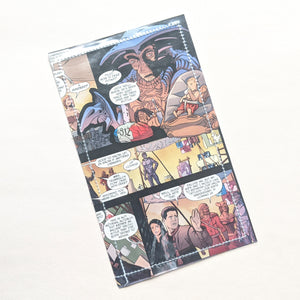 Farscape - Upcycled Comic Book Vinyl Wallet - Upcycled Comic Book Vinyl Wallet