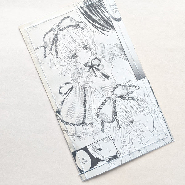 Rozen Maiden Hinaichigo - Upcycled Comic Book Vinyl Wallet - Upcycled Comic Book Vinyl Wallet