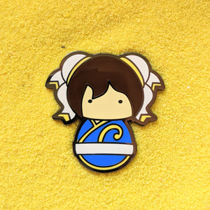 ChunLi, Street Fighter - Enamel Pin