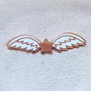 Angel Star Wings RoseGold - Enamel Pin