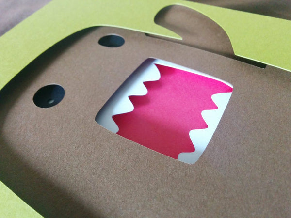 "Domo - 5""x7"" Shaowbox PaperCut"