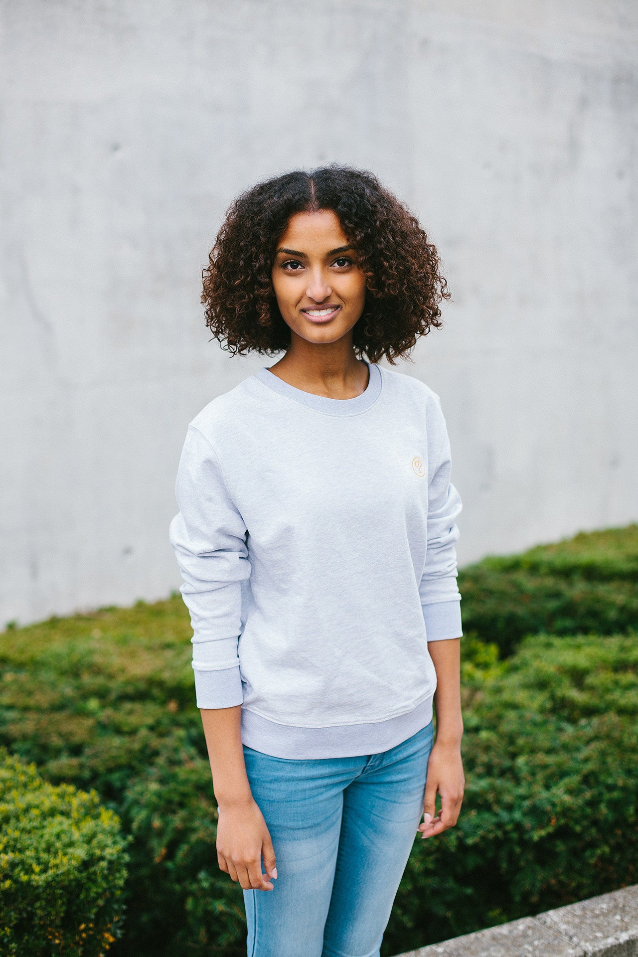 Basic Sweatshirt Women - Heather Lilac