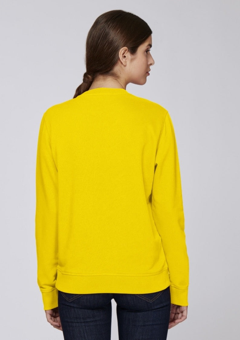 Organic Couture - Sweatshirt Yellow