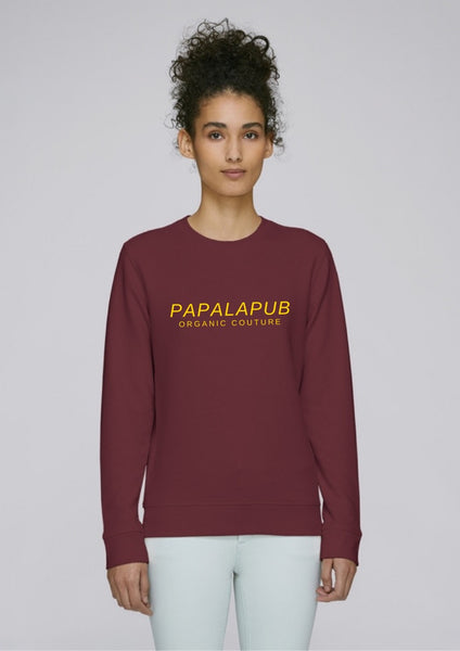 Organic Couture - Sweatshirt Burgundy